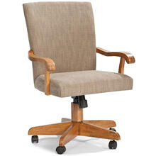 See Details - Classic Oak Chestnut Saratoga Game Chair