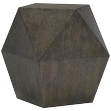 Linea End Table in Cerused Charcoal (384)