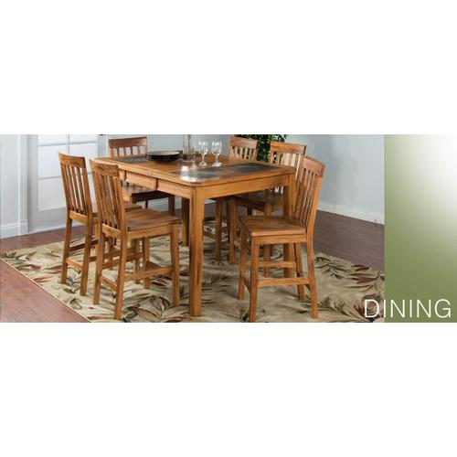 RED HOT BUY! Sedona Counter Height Table w/ Slate Top