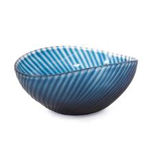 View Product - Oceanic Wave Hand Blown Glass Bowl
