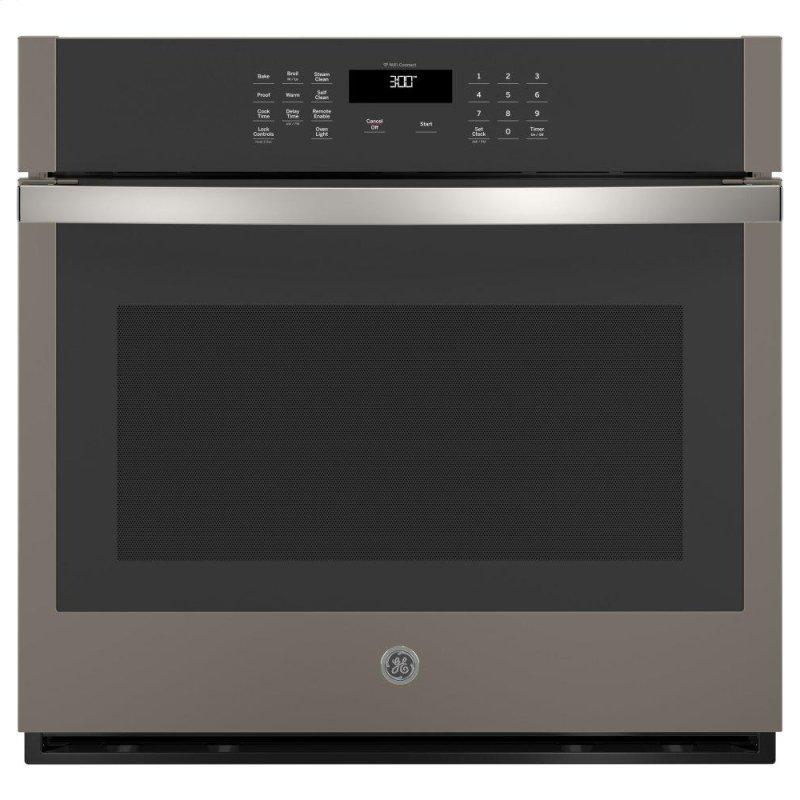 """30"""" Smart Built-In Self-Clean Single Wall Oven with Never-Scrub Racks"""