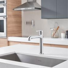 View Product - Studio S Pull-Out Kitchen Faucet  American Standard - Polished Chrome