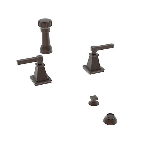 Newport Brass - English Bronze Bidet Set