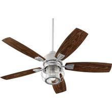See Details - Galveston 52-in Galvanized Indoor/Outdoor Ceiling Fan (5-Blade)