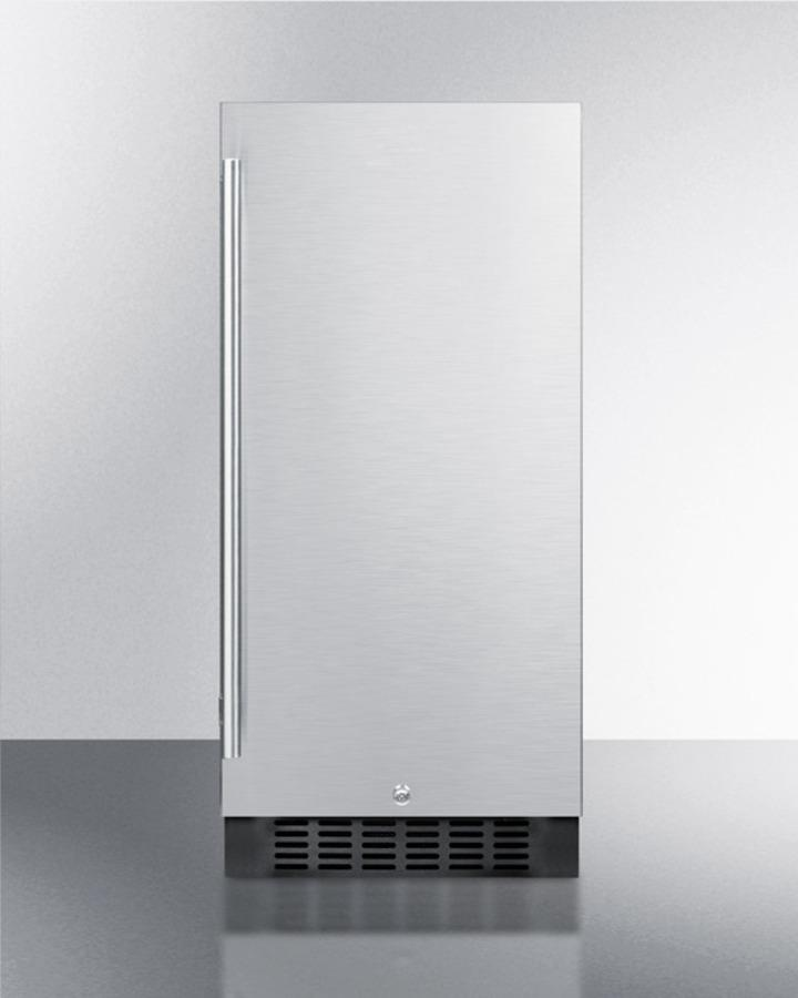 "Summit15"" Wide Built-In All-Refrigerator"