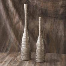 See Details - Nifty Vase-Silver-Lg