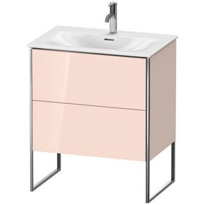 Vanity Unit Floorstanding, Apricot Pearl High Gloss (lacquer)