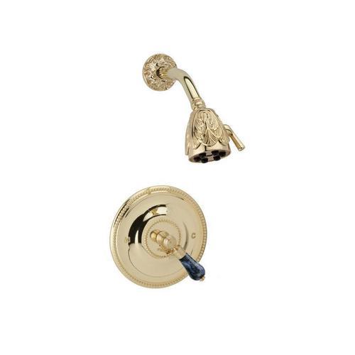 Phylrich - VERSAILLES Pressure Balance Shower Set PB3242 - Satin Gold with Satin Nickel