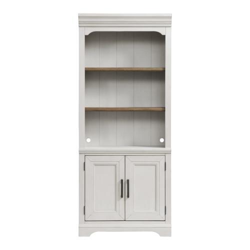 "Intercon Furniture - Drake 76"" Bunching Bookcase w/Door"