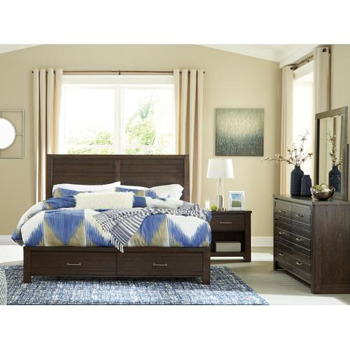 Darbry King Storage Bedframe