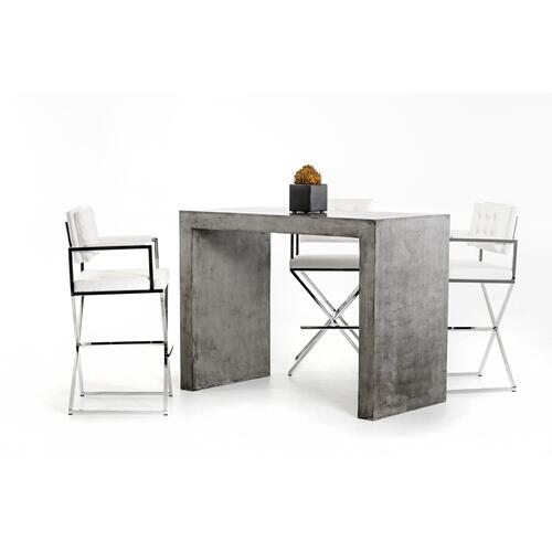 VIG Furniture - Modrest McGee Modern Concrete Bar Table