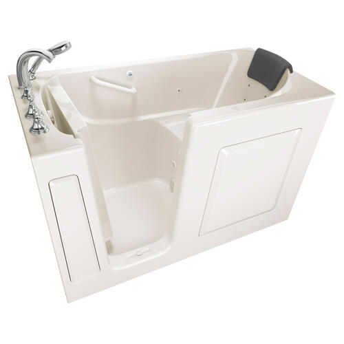 American Standard - Premium Series 30x60-inch Walk-In Tub with Whirlpool Massage System  American Standard - Linen