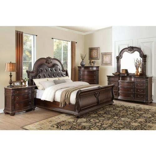 Homelegance - Night Stand, Marble Top