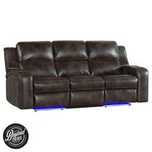Silhouette Dual-Power Sofa  Bolero Coffee