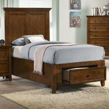 San Mateo Twin Bed  Tuscan