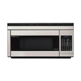1.1 cu. ft. 850W Sharp Stainless Steel Over-the-Range Convection Microwave Oven