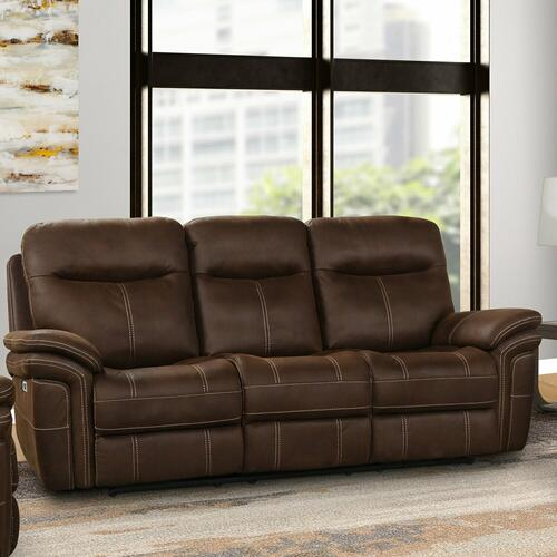Parker House - MASON - DARK KAHLUA Power Sofa
