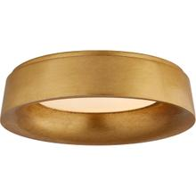 View Product - Barbara Barry Halo LED 18 inch Gild Flush Mount Ceiling Light