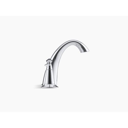 Polished Chrome Widespread Bathroom Sink Faucet