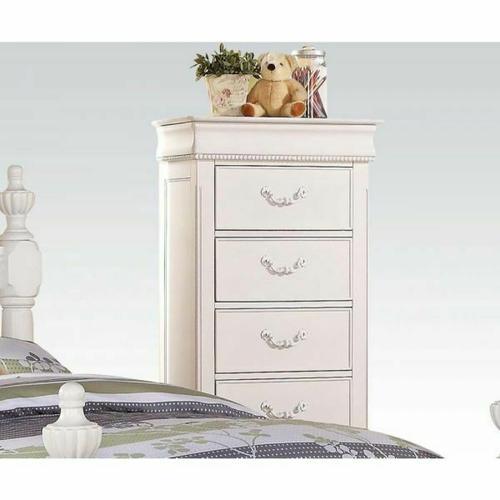 ACME Classique Lingerie Chest - 30132 - White