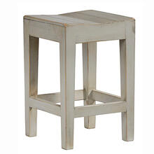 Counter Stool- 2/CTN - Antique Gray Finish
