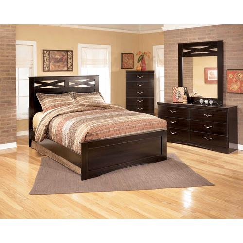 X-cess Collection Queen Bed