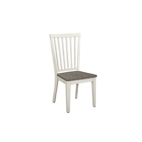 Dining Chair - Smoke/Vanilla Finish