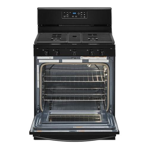 Gallery - 5.0 cu. ft. Whirlpool® gas range with center oval burner