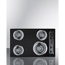 "30"" Wide 4-burner Coil Cooktop"