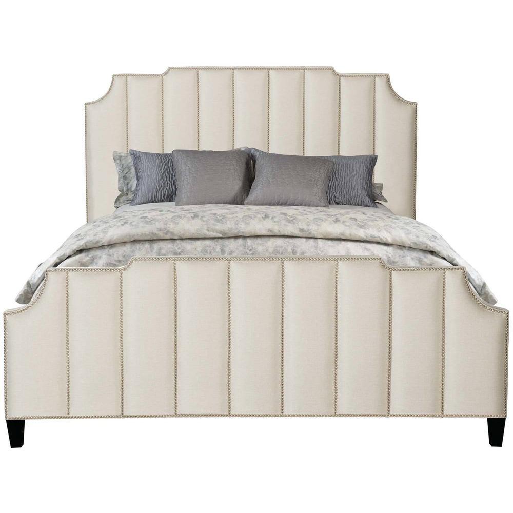 Queen Bayonne Upholstered Bed in Espresso