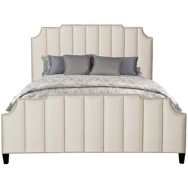 See Details - Queen-Sized Bayonne Upholstered Bed in Espresso