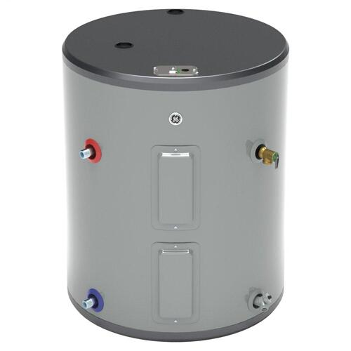GE® 36 Gallon Side Port Lowboy Electric Water Heater