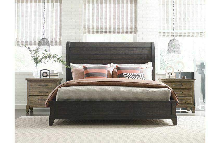 Kincaid FurnitureEastburn Sleigh King Bed - Complete