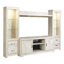 Bellaby 4 Piece Entertainment Set Whitewash
