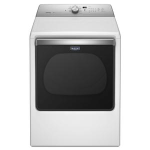 Maytag8.8 cu. ft. Extra-Large Capacity Dryer with Advanced Moisture Sensing White