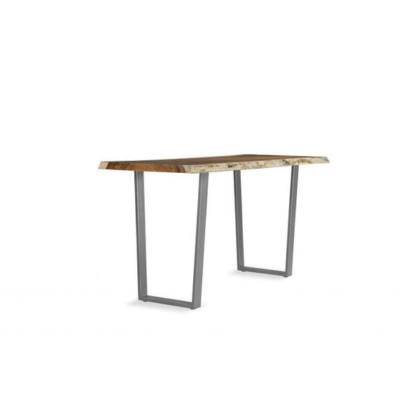 See Details - Metal Trapezoid Bistro Height Base