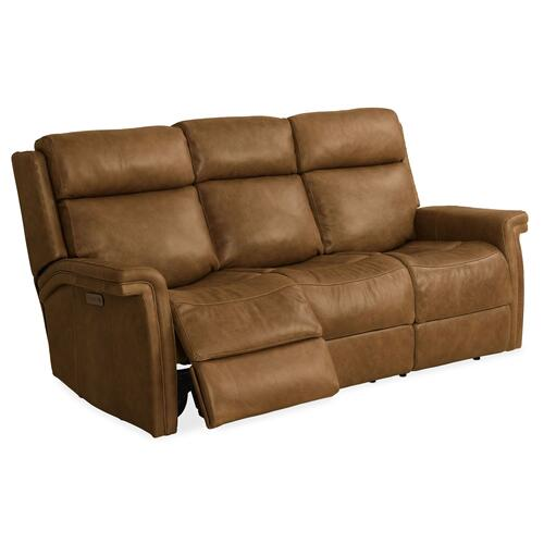 Living Room Poise Power Recliner Sofa w/ Power Headrest