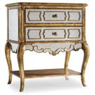 Sanctuary Mirrored Leg Nightstand-Bling Product Image