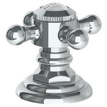 """Trim for Deck Mounted Valve. Porcelain Cross Buttons Engraved """"cold"""""""