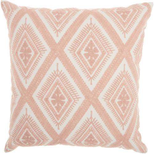 "Life Styles L1022 Rose 18"" X 18"" Throw Pillow"