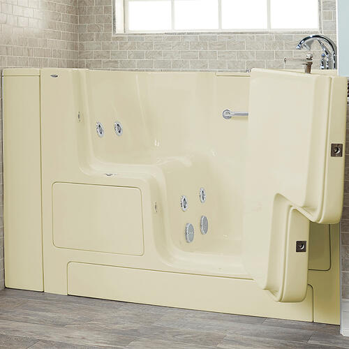 Value Series 32x52-inch Whirlpool Walk-In Tub  Out-swing Door  American Standard - Linen