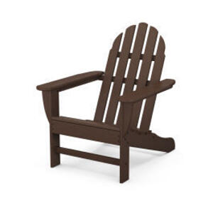 Polywood Furnishings - Classic Adirondack Chair in Mahogany