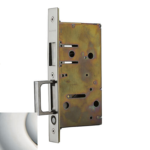 Polished Nickel with Lifetime Finish 8603 Pocket Door Strike with Pull