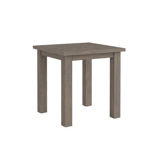 Aluminum Farm Tables Square Side Table