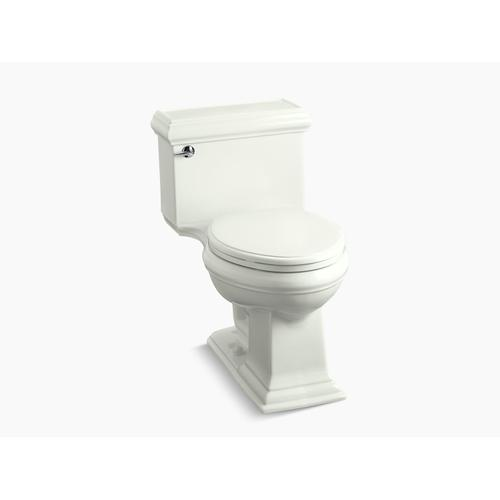 Dune One-piece Compact Elongated 1.28 Gpf Chair Height Toilet With Quiet-close Seat