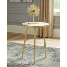 See Details - Modern Marble and Gold Accent Table