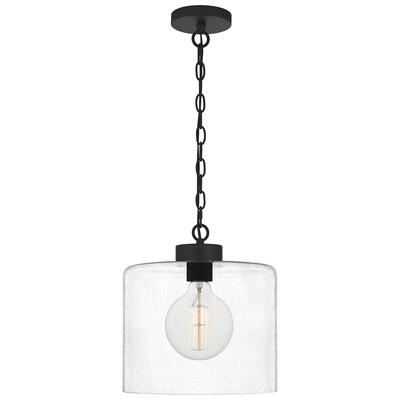 Abner Mini Pendant in Matte Black