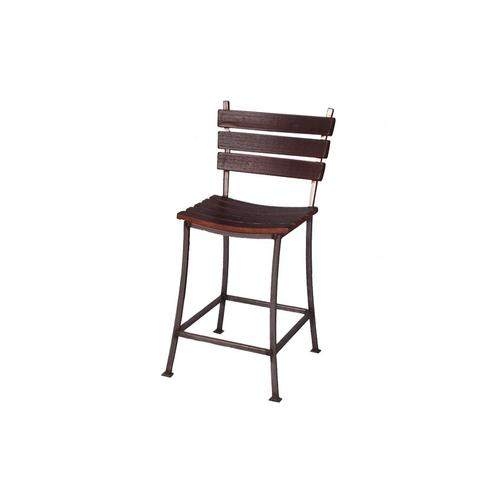 """2 Day Designs - 24"""" STAVE BACK BAR STOOL"""