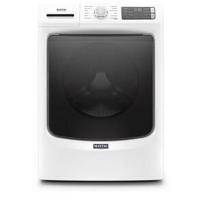 Front Load Washer with Extra Power and 16-Hr Fresh Hold® option - 4.8 cu. ft. - WHITE