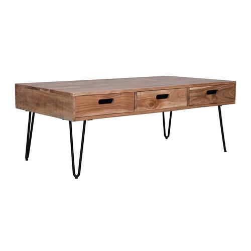 Rollins 3 Drawer Coffee Table